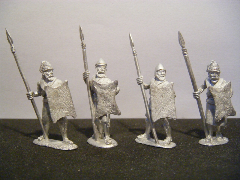 Later City-State Spearmen with Amorite Shield