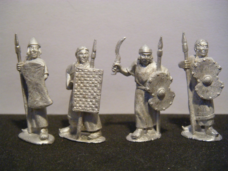 Hittite Spearmen with shield