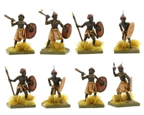 Nubian/Kushite Close-Fighters