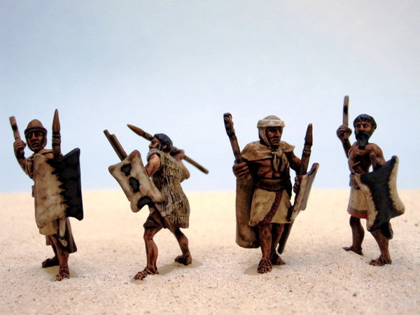 Amorite Nomad Levy Infantry, painted by David May / {Location}: Amorite Kingdoms Gallery\\n\\n14/06/2012 00:58