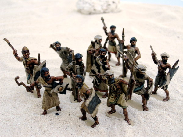 Amorite Nomad Levy Infantry, painted by David May / {Location}: Amorite Kingdoms Gallery\\n\\n14/06/2012 01:33
