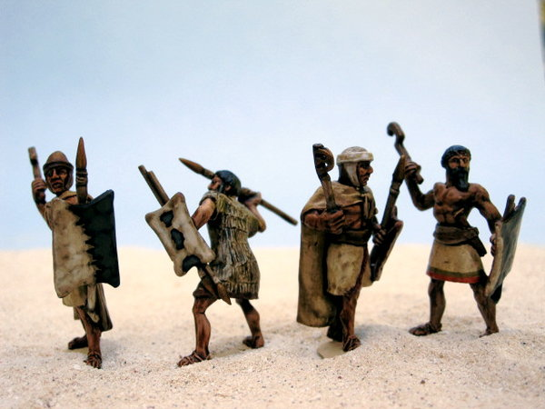 Early Desert & Dry Steppe Nomad Amorites, painted by David May\\n\\n14/06/2012 01:02