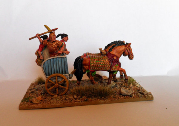 Hittite Heavy Chariot painted by Colin Knight\\n\\n03/02/2012 08:34
