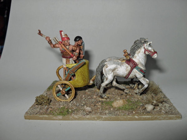 Egyptian Chariot I painted by Colin Knight\\n\\n20/02/2012 23:02